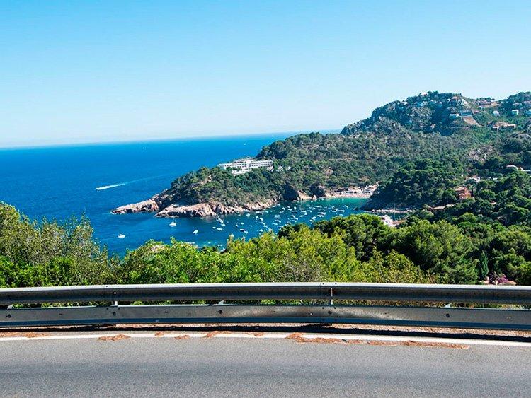 Llafranc-Calella-Palafrugell-ruta-bici