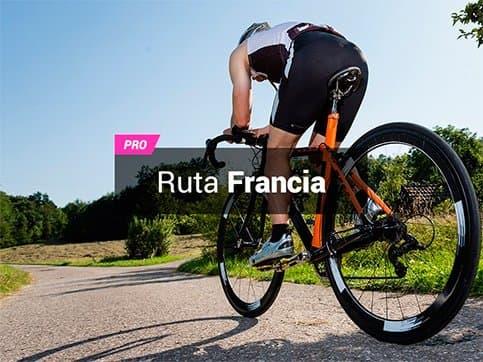 Ruta bici Francia