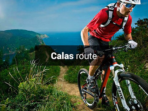 Calas bicycle route