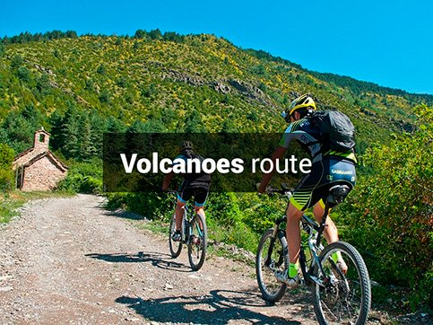 Costa Brava volcanoes bike route