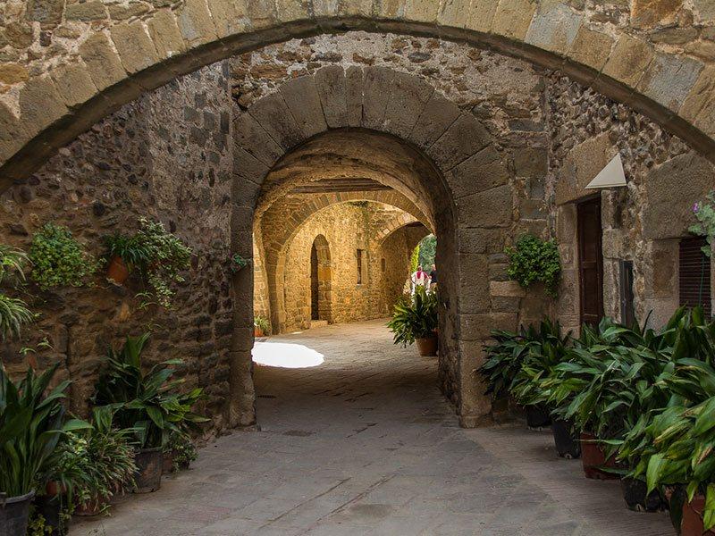Medieval-Monells-Ullastret-Spain
