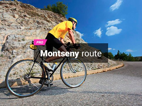 Montseny bike route